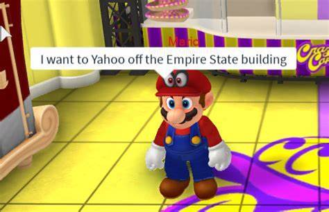 I want to Yahoo off the Empire State building - meme