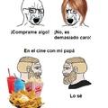 En el cine con tus padres