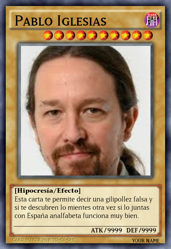 Pablo miserias - meme