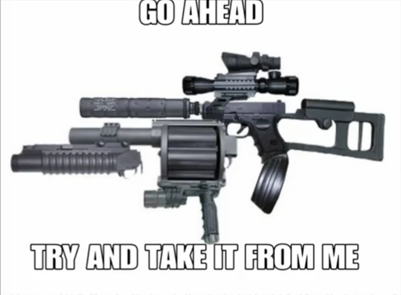 No me ovligues a usarlo - meme