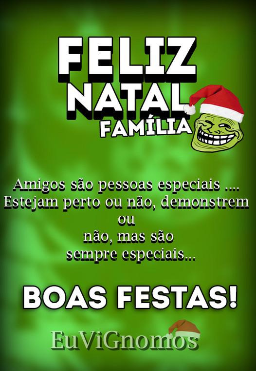 FELIZ NATAL! <3 - meme