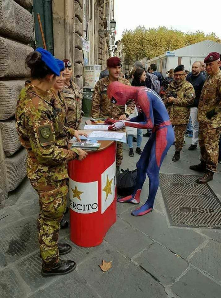 The Italian Army is invincible now - meme