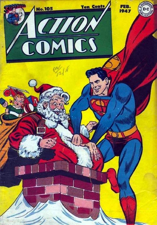 Superman x Santa - meme