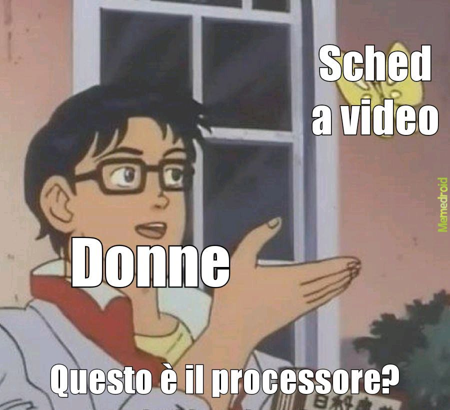 Sono tornato bitchs - meme