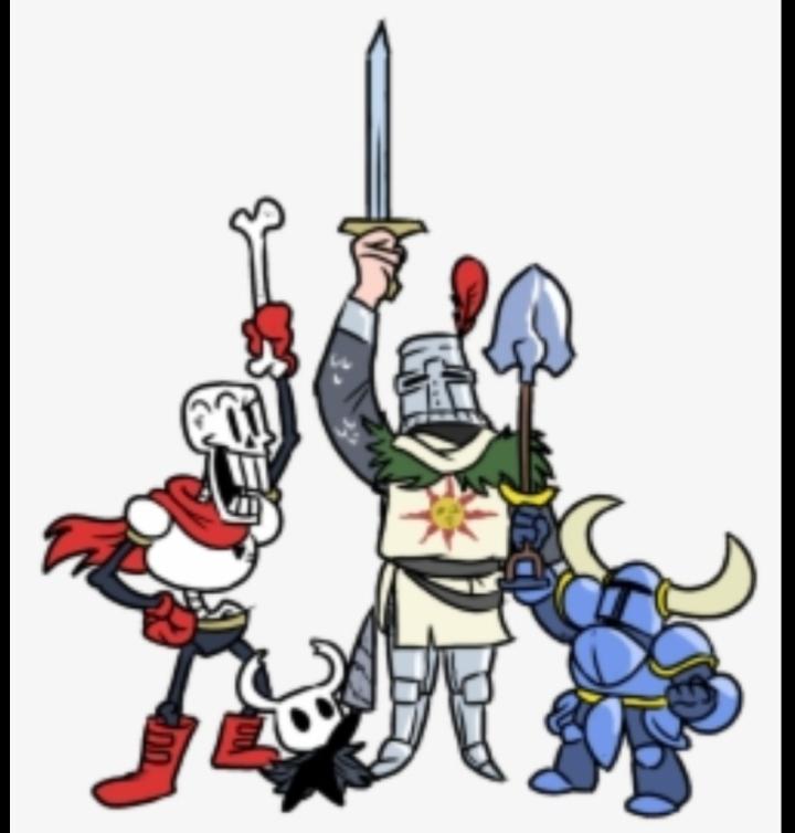 Knights unite! - meme
