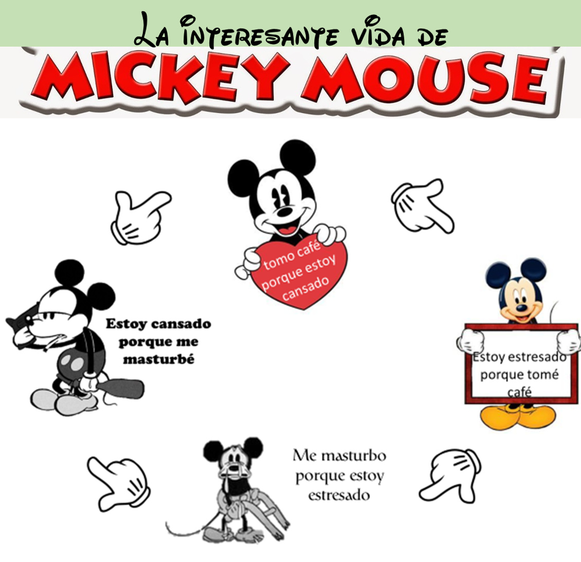 Es Mickey Mouse - meme