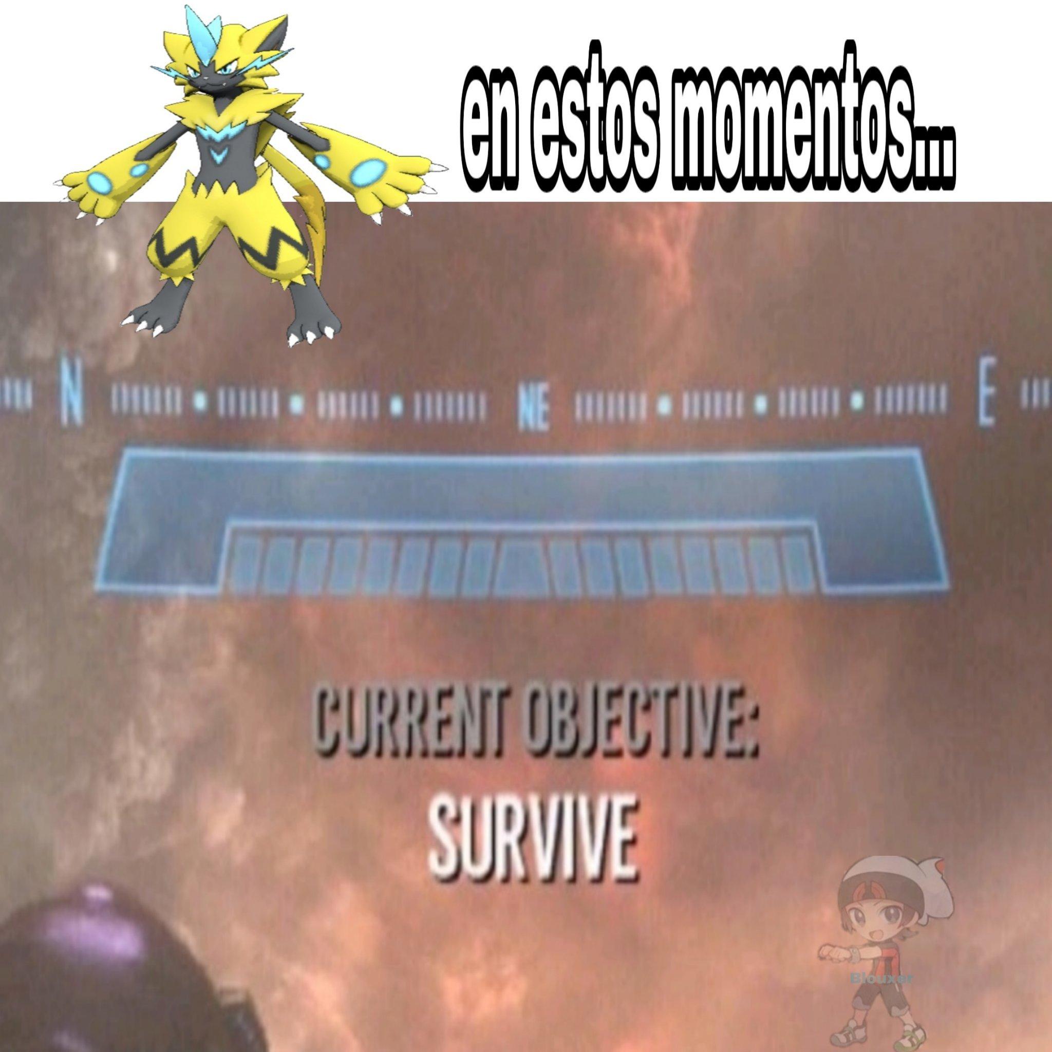 Zeraora - meme