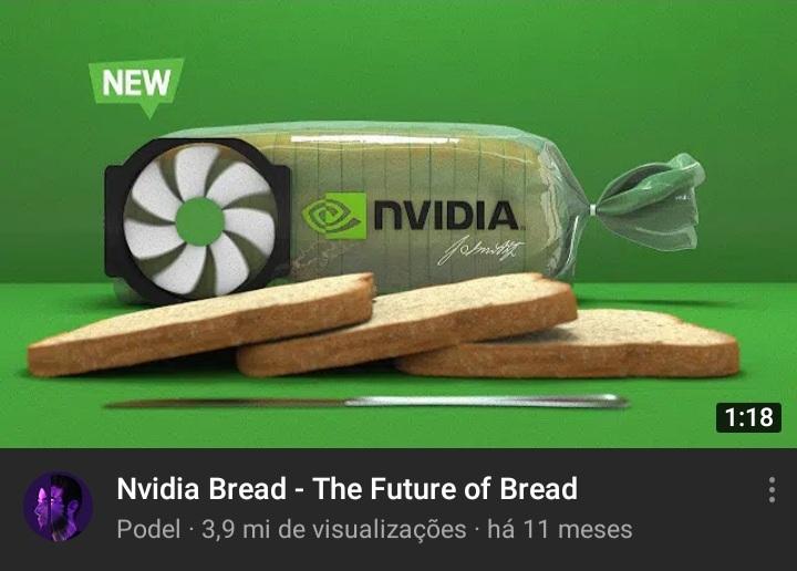 O pão mais potente da história - meme