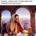 Jesus hip AF