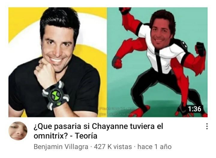 Chayanne @camaron_con_memes
