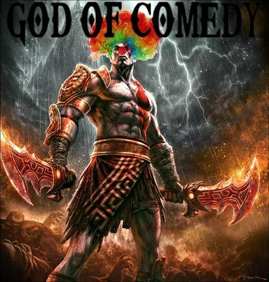 GOD OF COMEDY - meme