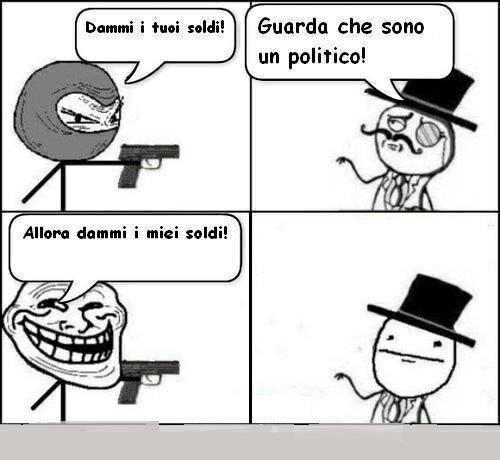 Dammi i soldi!!! - meme