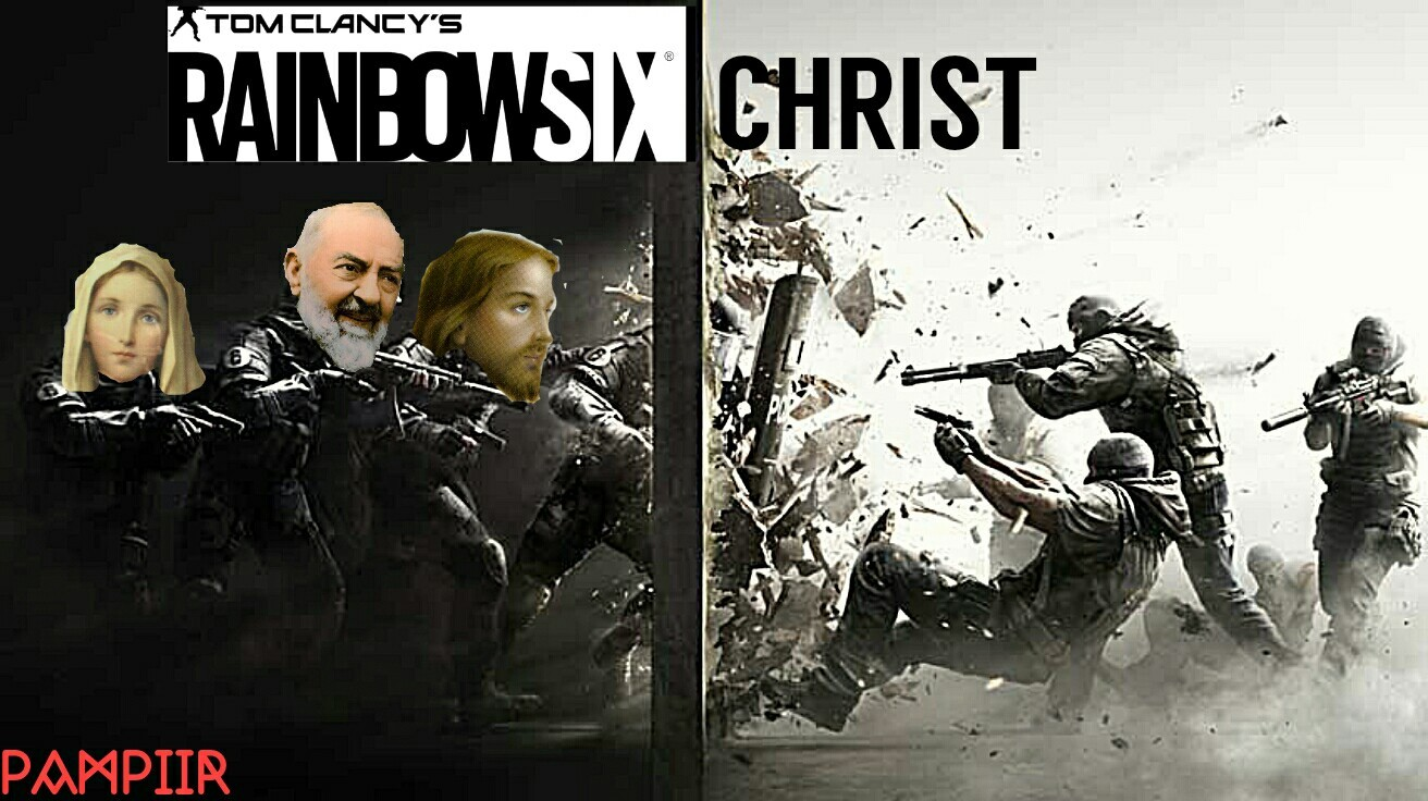 Rainbow six christ - meme