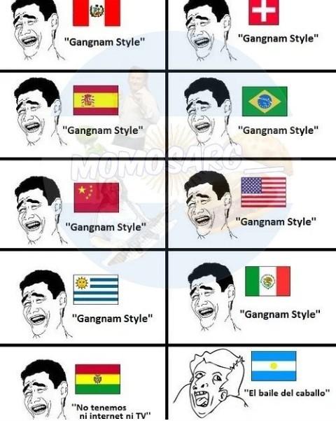 Caballo style - meme