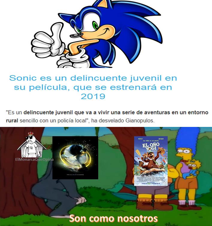 Top Memes De Sonic The Hedgehog En Español :) Memedroid