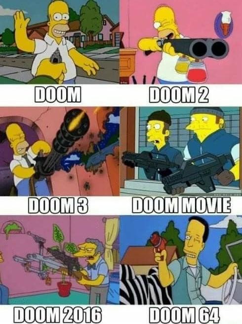 DooM eternal is coming. - meme