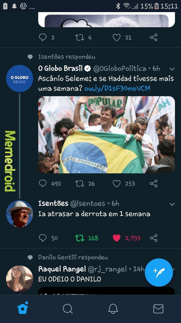 Andrade já era - meme