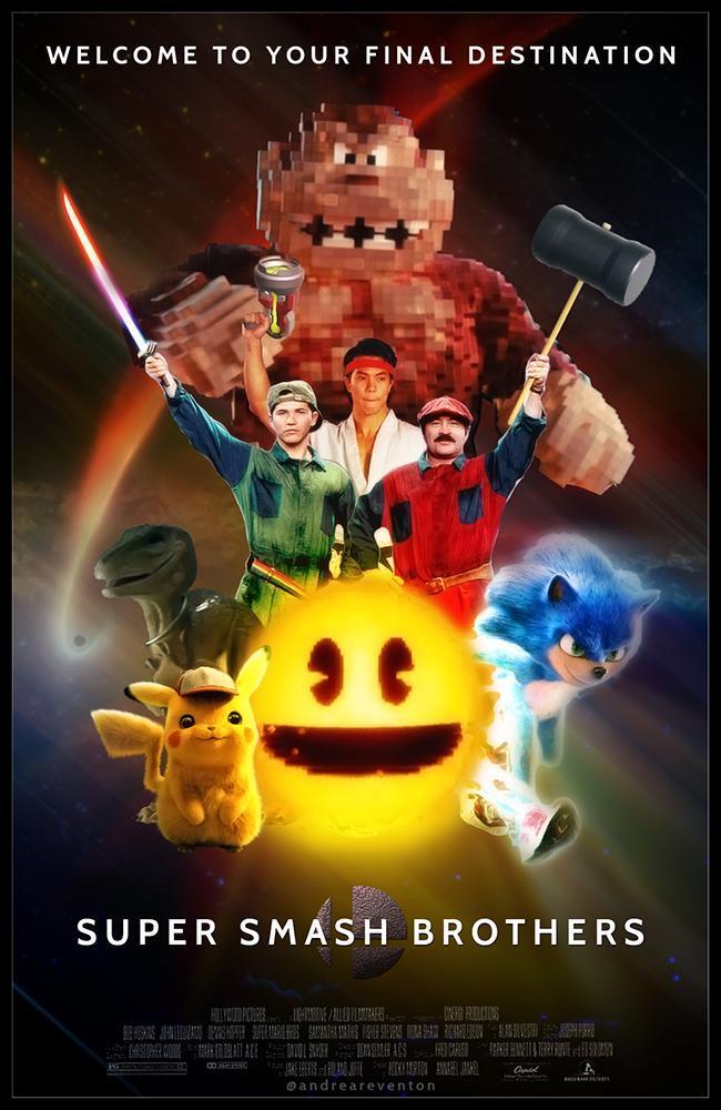 já ouviram falar na iniciativa Super Smash Brothers? - meme