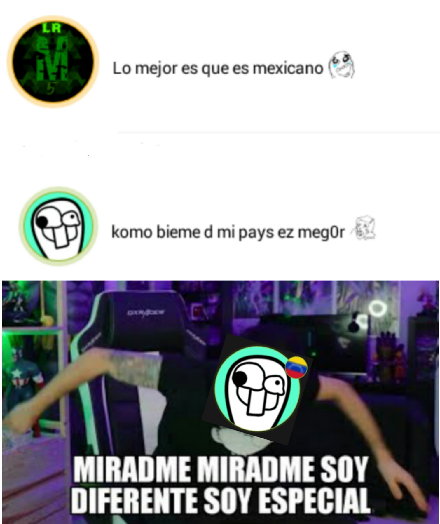 No sean asi UnU... - meme