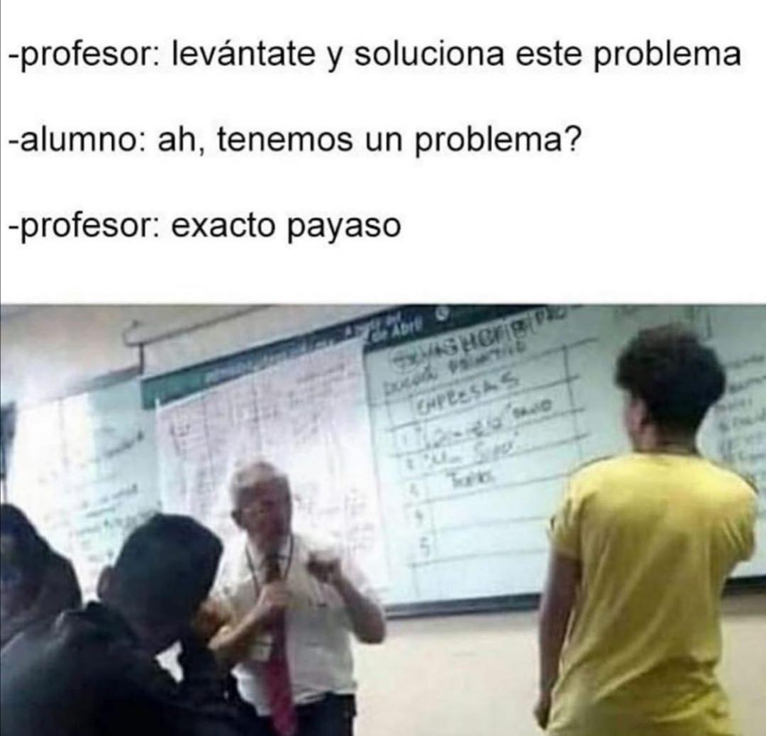 EXACTO PAYASO - meme