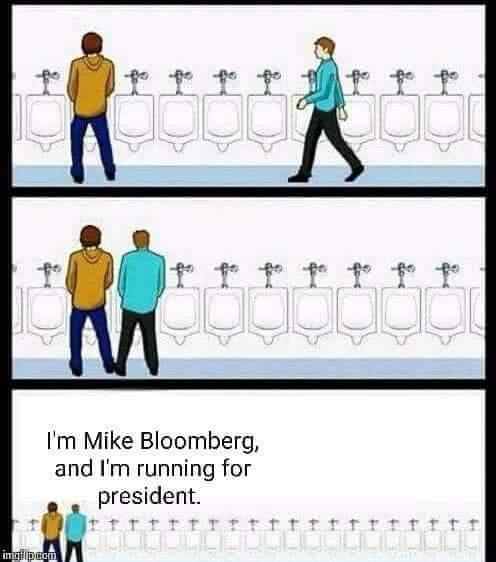 Bloomberg is gay - meme
