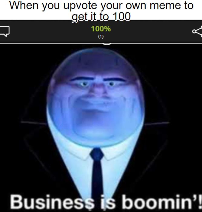 Upvote - meme
