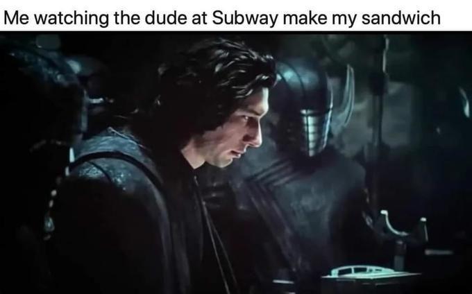 Don't it feel awkward? - meme