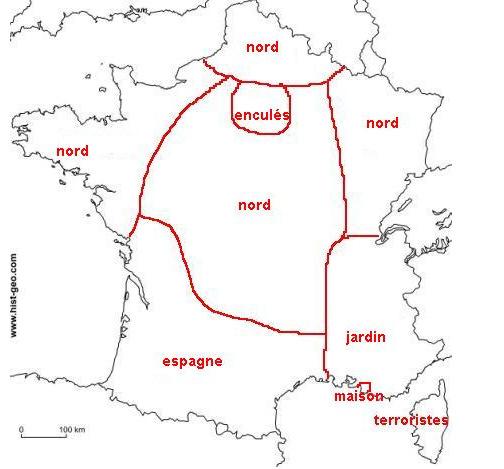 La France vu par les Marseillais - meme