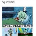 I'm squidward