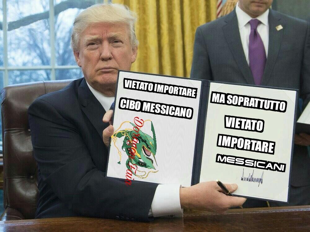 Trump e i Messicani - meme