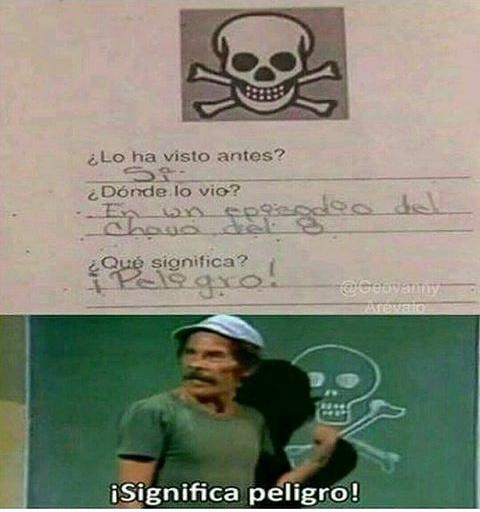 Significa peligro! - meme