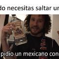 Mexicano con tequila