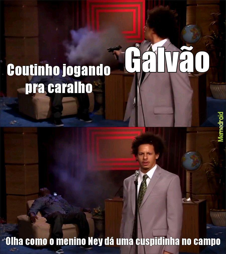 """Toca pro Neymar, Lucas"" - meme"