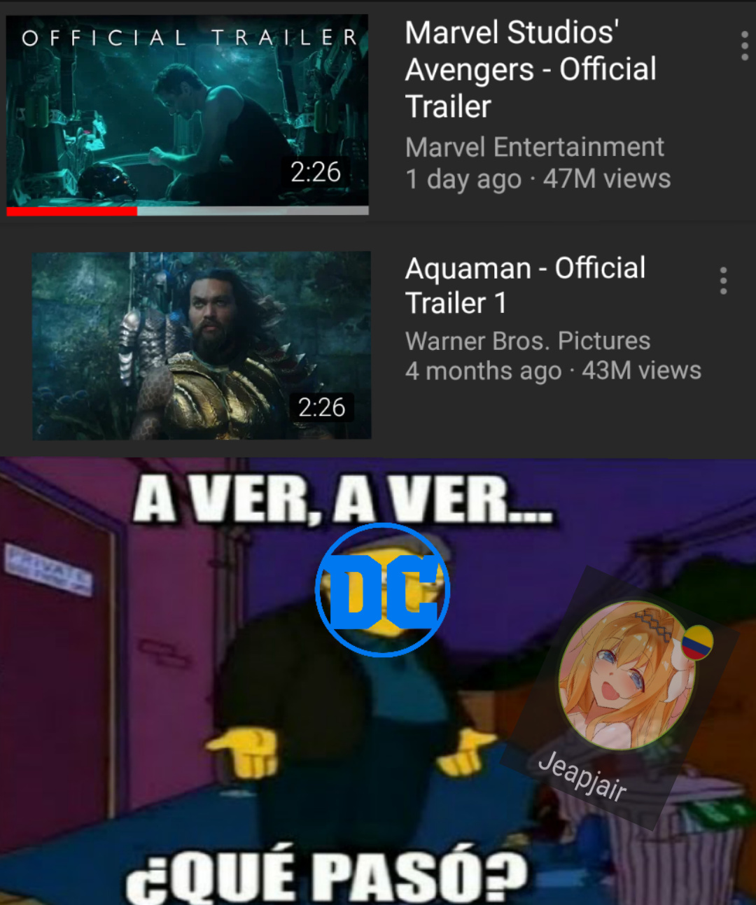 GG DC - meme