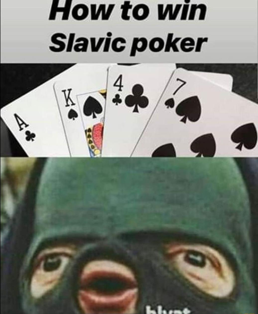 Ace King 47 - meme