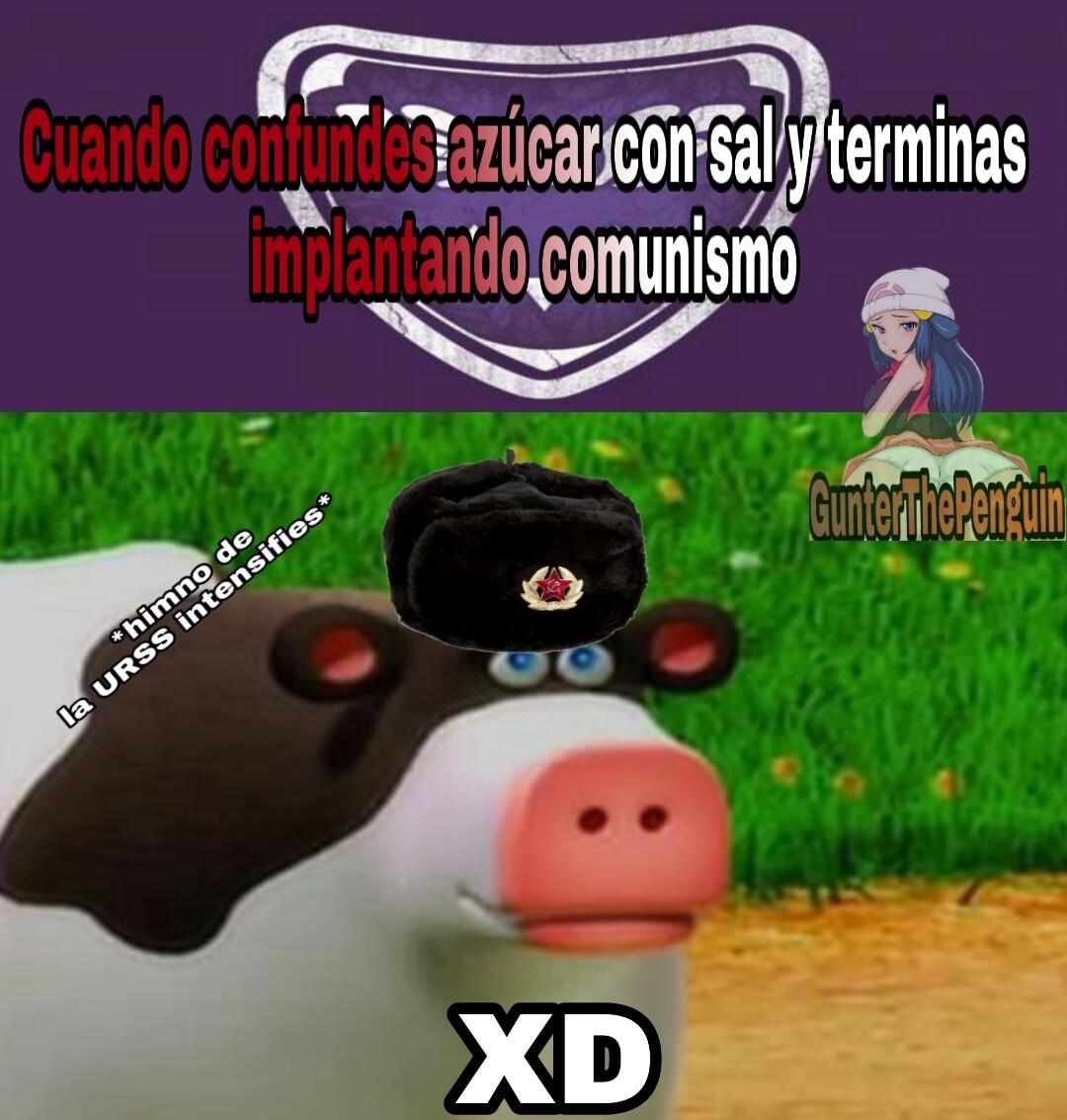 comunismo X''D - meme