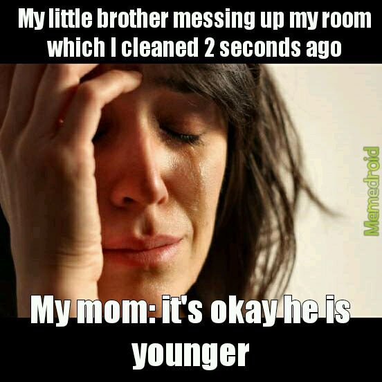 Elder siblings problems - meme