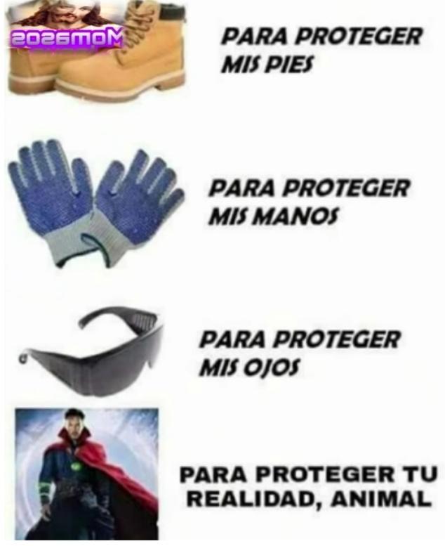Proteccion - meme