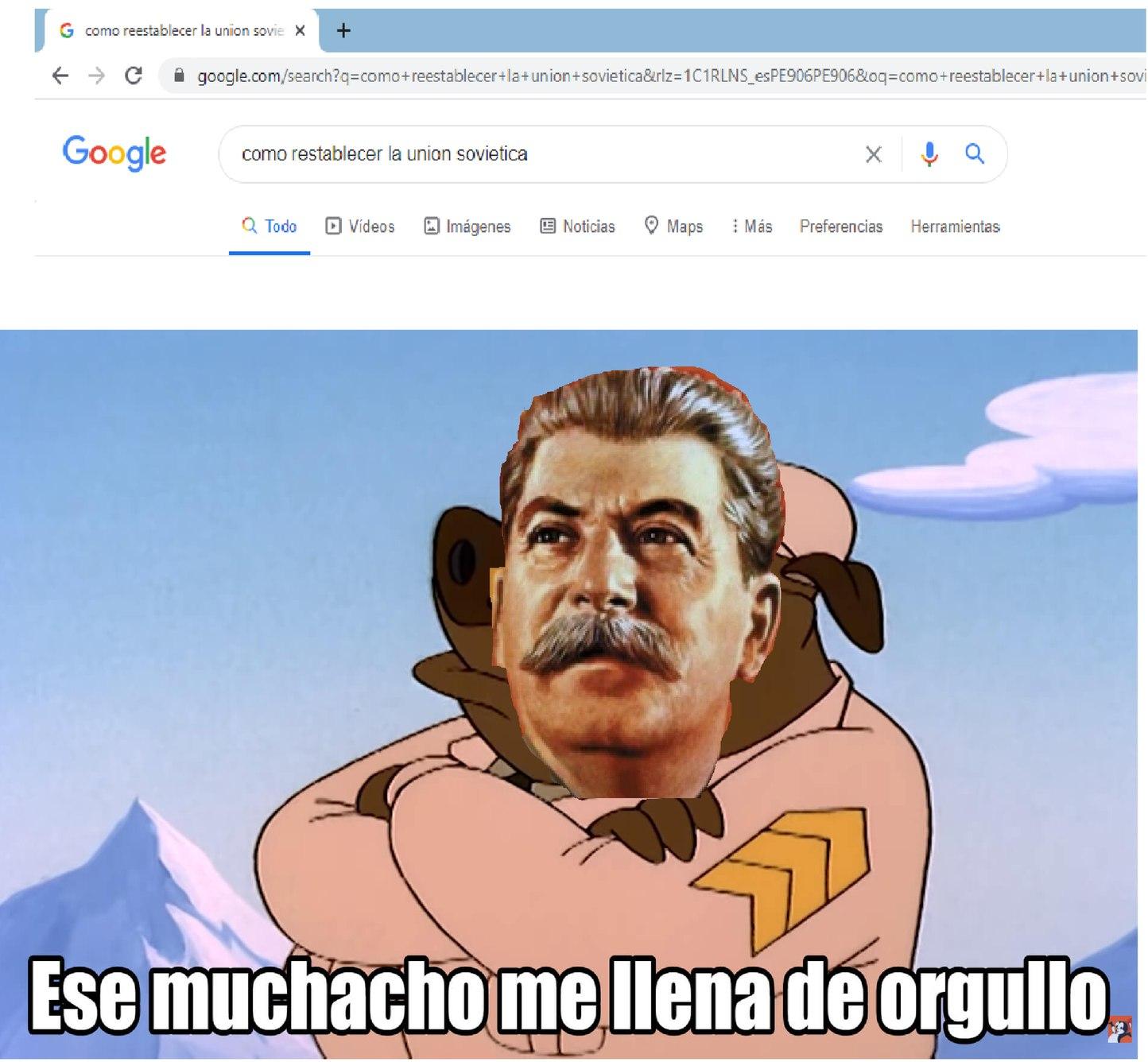 hora comunista - meme