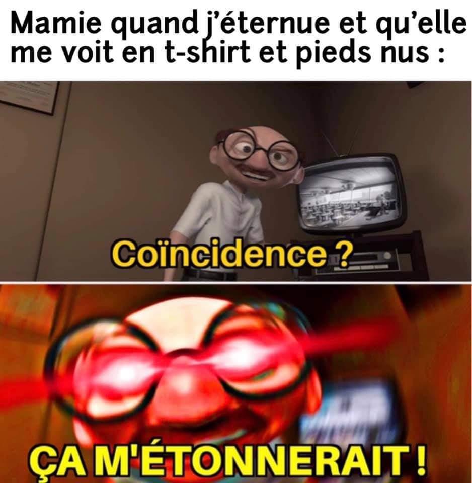 C'EsT cAr Tu JoUeS tRoP aUx JeUx - meme