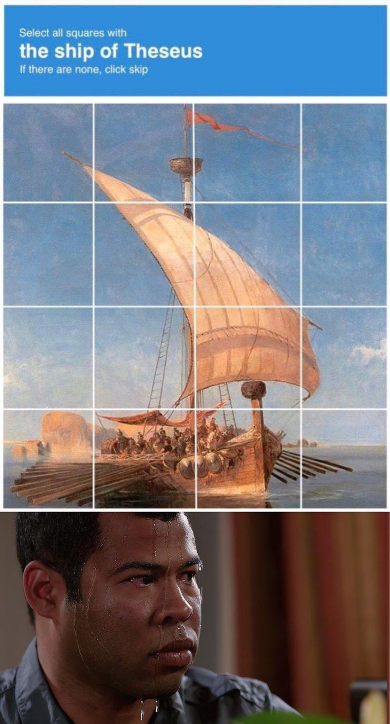 le bateau de thésée. un avis ? - meme