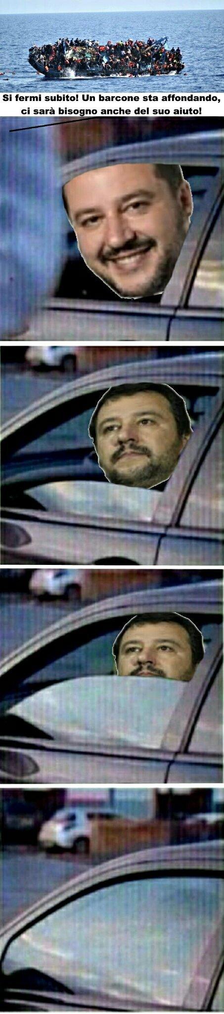 Salvini monelloh - meme