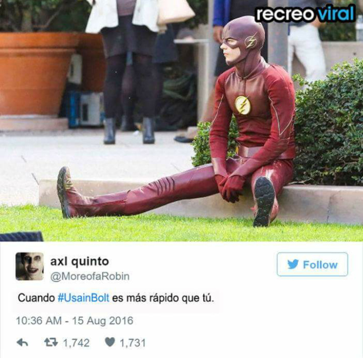 Pobre Flash - meme