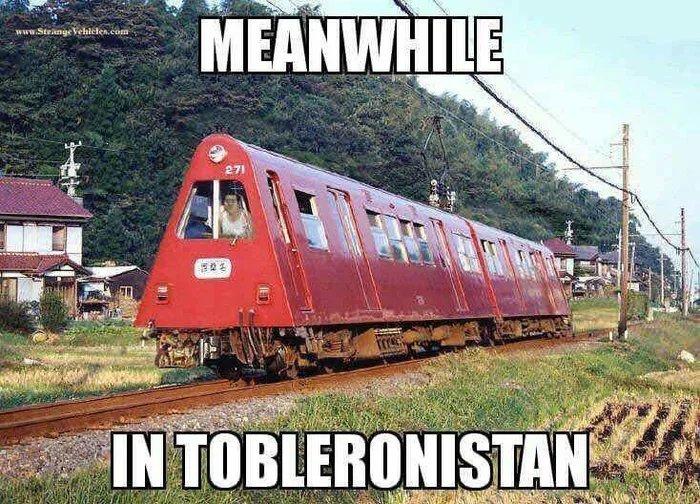 Tobleronistan - meme
