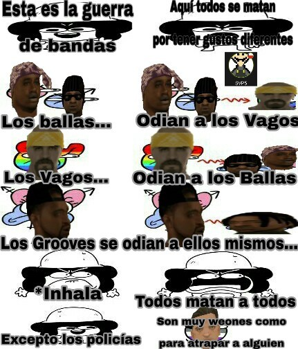 Grand Theft Auto San Andreas - meme