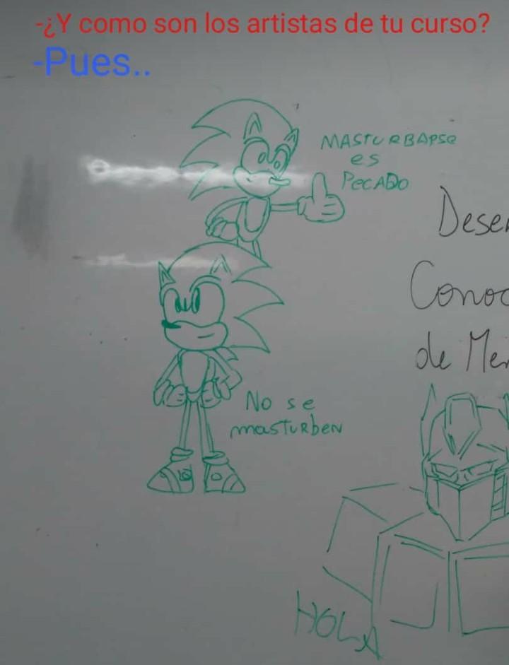 Haganle caso a Sonic - meme