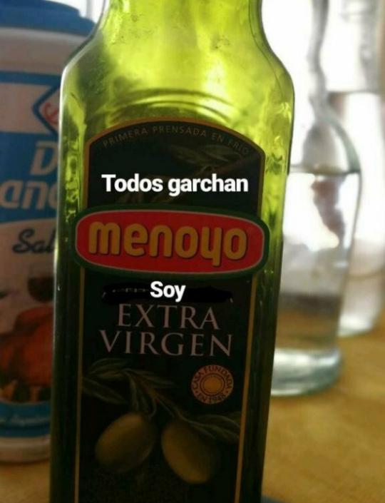 MENOYO,MENOYO,EN TUS COMIDAS... - meme