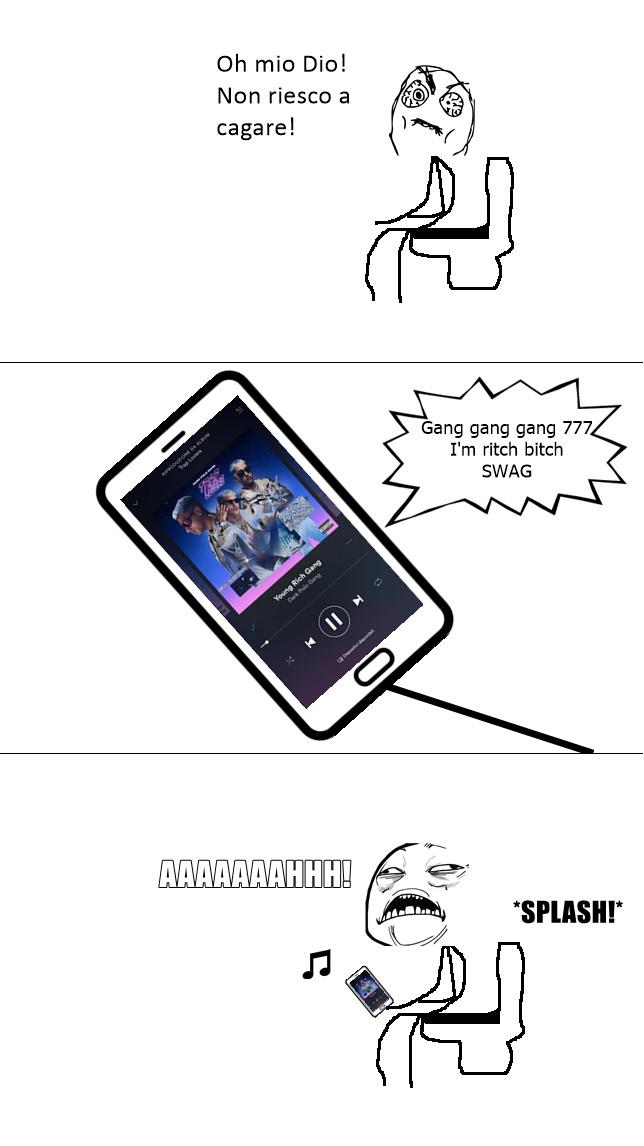 La brutta musica ha la sua utilità - meme