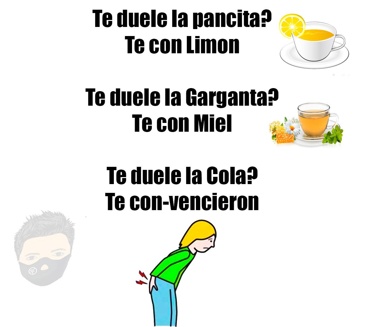 TE de limon - meme