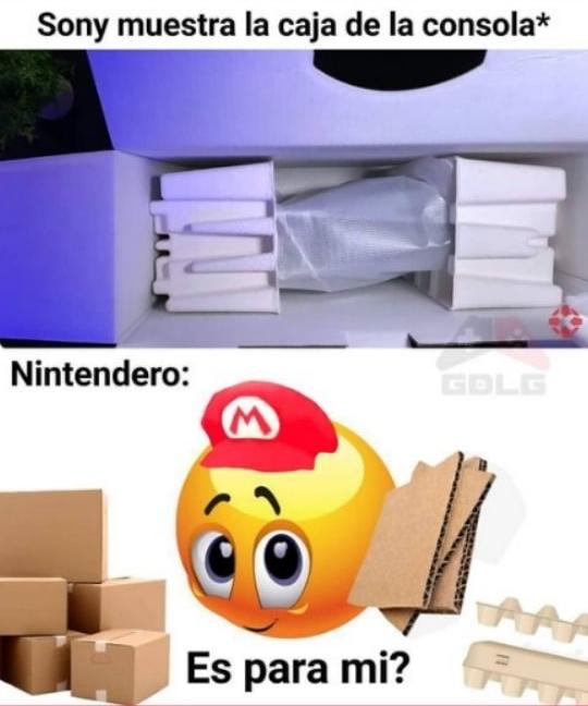 Para los que entendieron la Nintendo Labo - meme